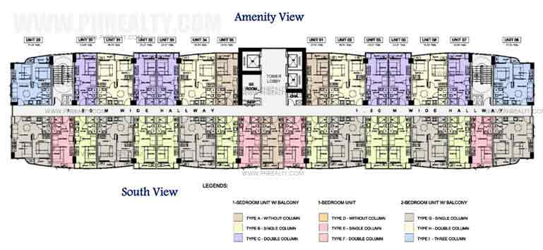 South Residences - Tower 2 Typical Floor Plan