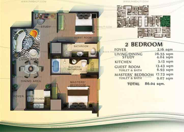 CDC Millennium Ortigas - Unit Plans