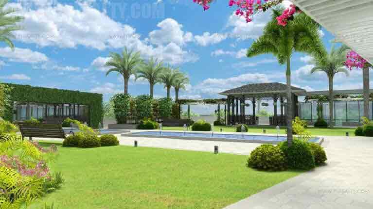 The Sapphire Bloc - Landscaped Garden