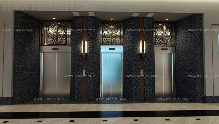 The Sapphire Bloc  - Main Elevator Lobby