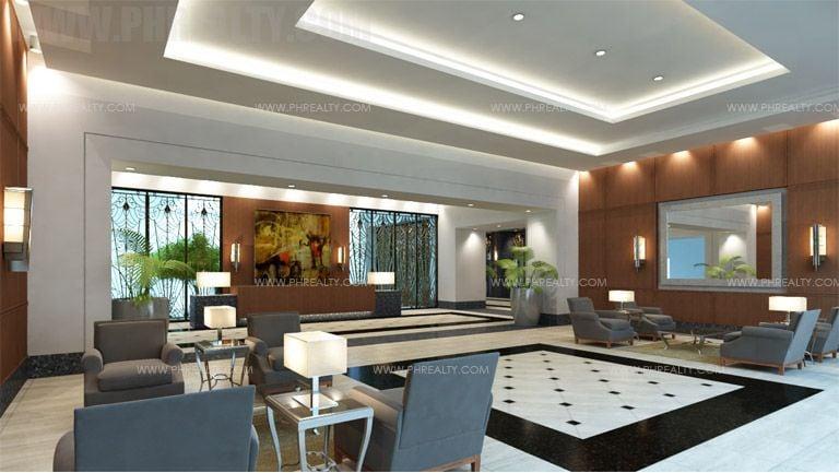 The Sapphire Bloc  - Main Lobby