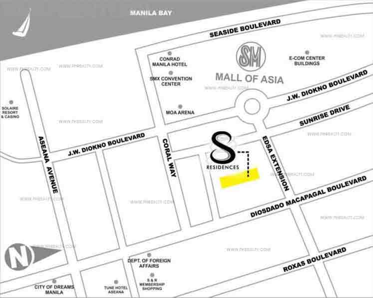 S Residences - Location & Vicinity