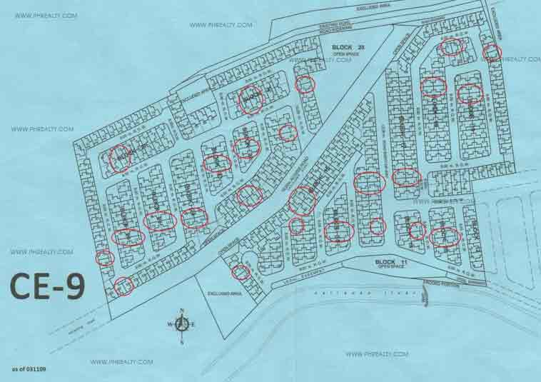 Carmona Estates  - Site Development Plan