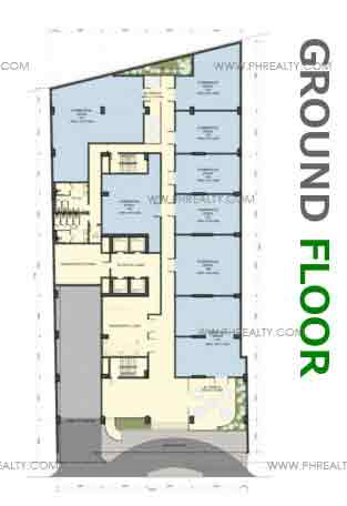 Camella Condo Homes Taft - Ground Floor Plan