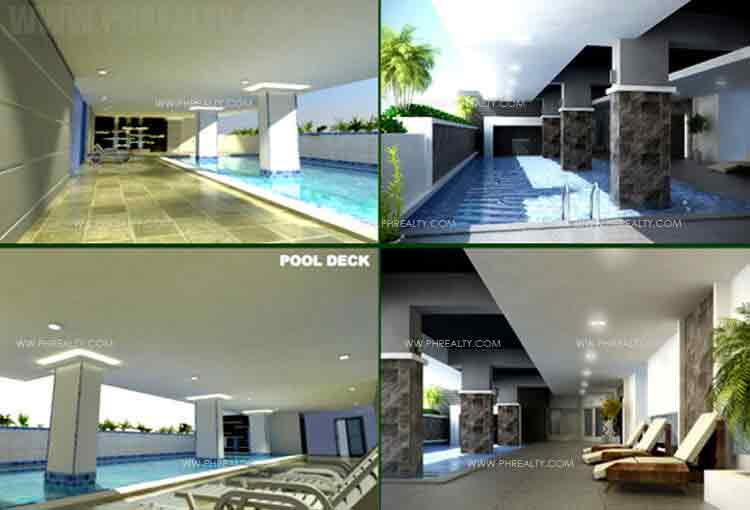 Camella Condo Homes Taft - Pool Deck