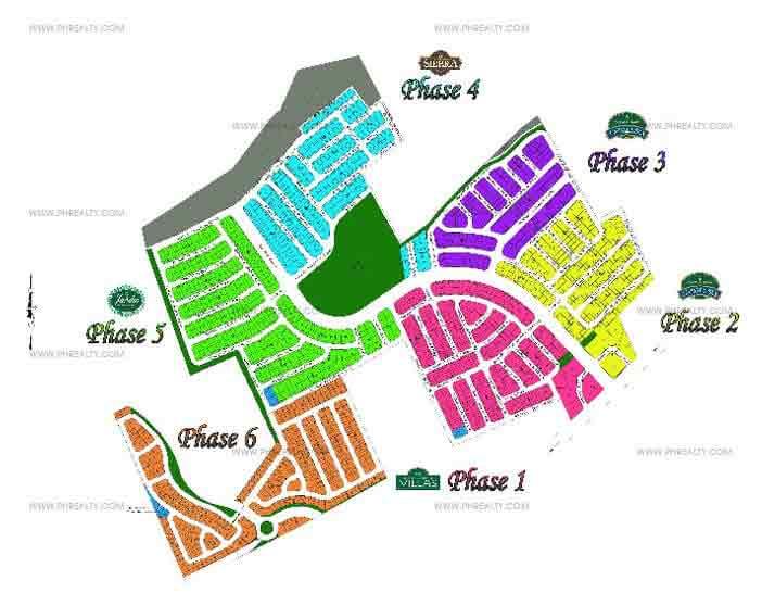 Sta. Rosa Heights  - Site Development Plan
