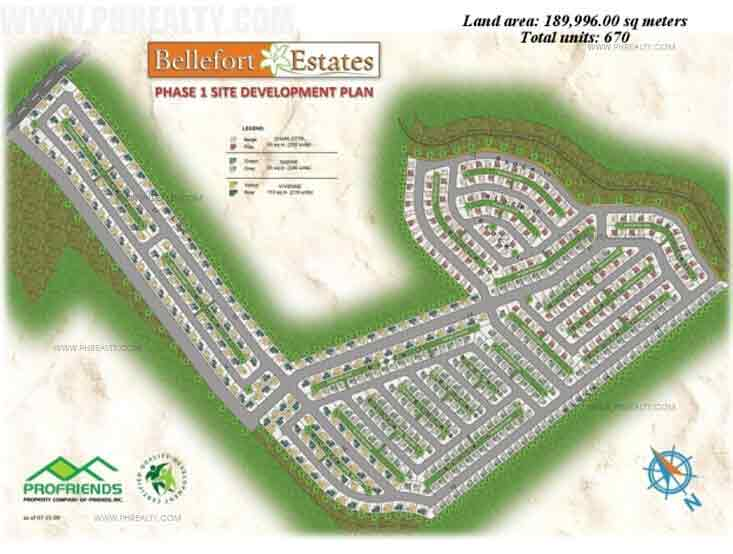 Bellefort Estates - Site Development Plan 1
