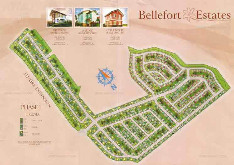 Bellefort Estates - Site Development Plan