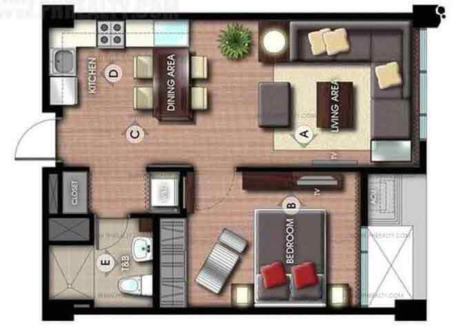 La Vie Flats - 1 Bedroom Unit