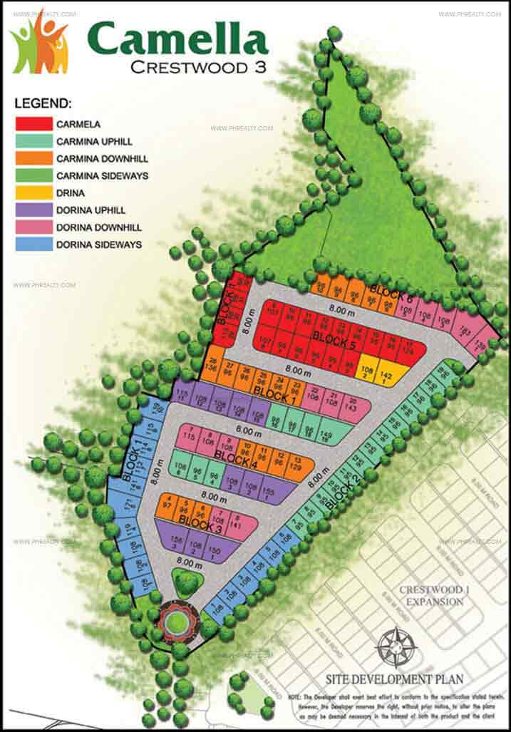Camella Crestwood - Site Development Plan Phase 3