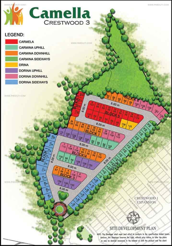 Camella Crestwood - Site Development Plan Phase 3