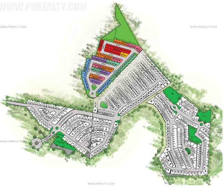 Camella Crestwood - Site Development Plan