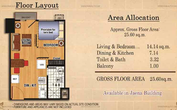 Ilustrata Residences - Studio Unit With Balcony