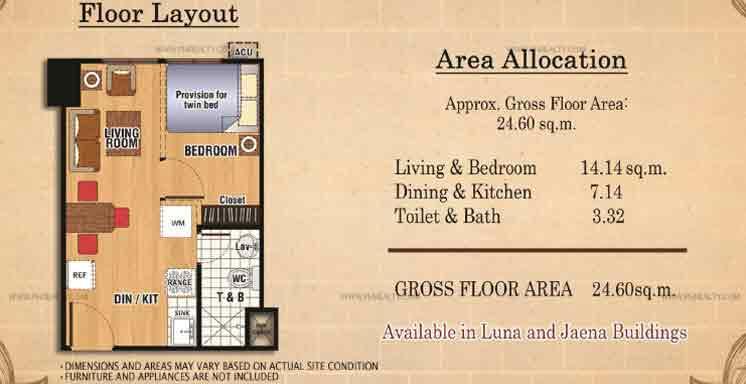 Ilustrata Residences - Studio Unit