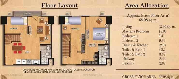 Ilustrata Residences - Bi-Leval Type 2