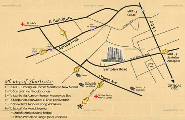 Ilustrata Residences - Location & Vicinity