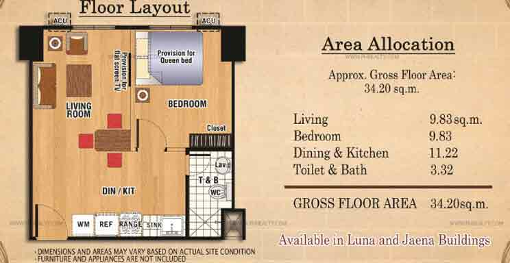 Ilustrata Residences - One Bedroom