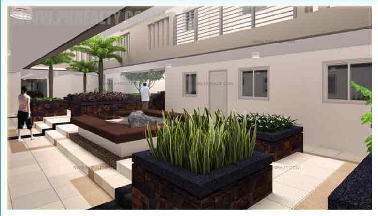 Sheridan Towers - Garden Atrium