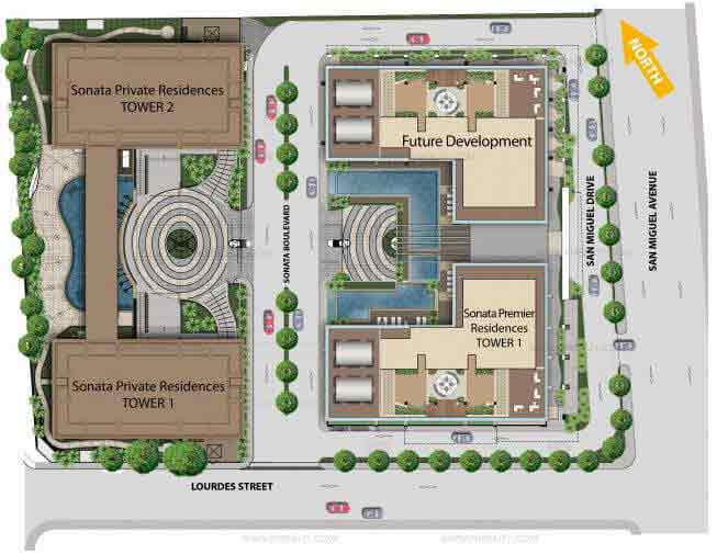 Sonata Premiere Residences - Site Development Plan