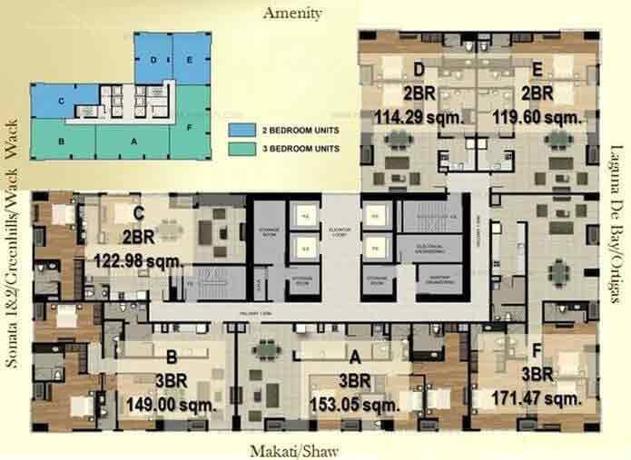 Sonata Premiere Residences - Floor Plan