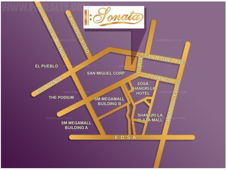 Sonata Premiere Residences - Location & Vicinity