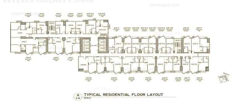 Grand Riviera Suites - Floor Plan