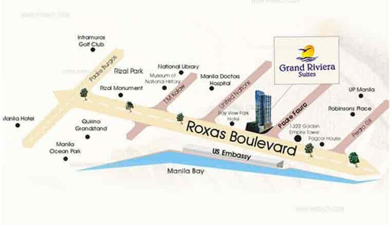 Grand Riviera Suites - Location & Vicinity