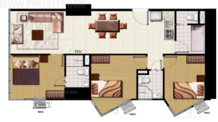 Grand Riviera Suites - Three Bedroom