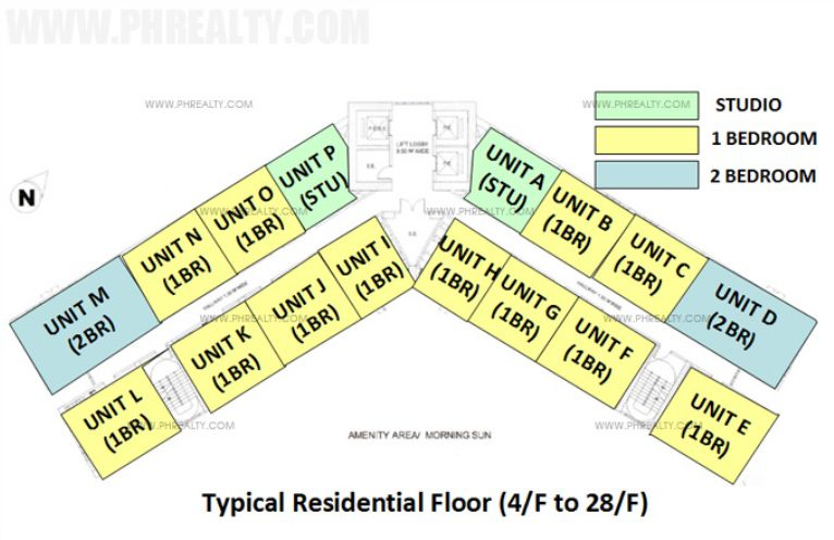 Gateway Regency - Floor Plans