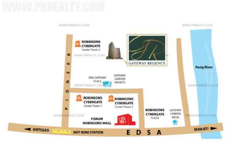 Gateway Regency - Location & Vicinity
