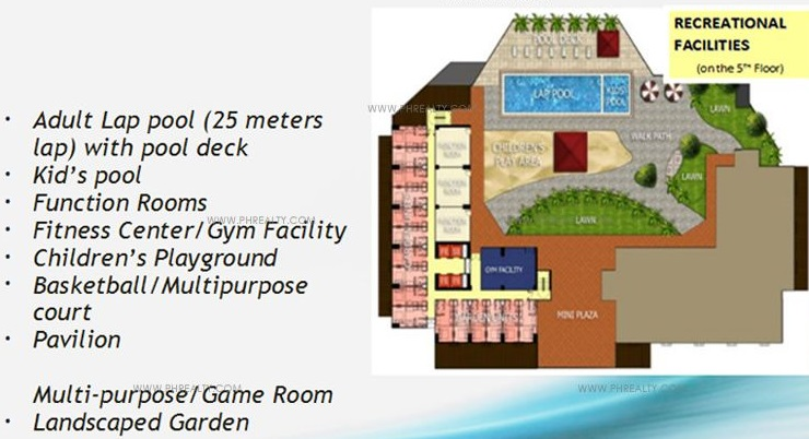 Axis Residences  - Amenities