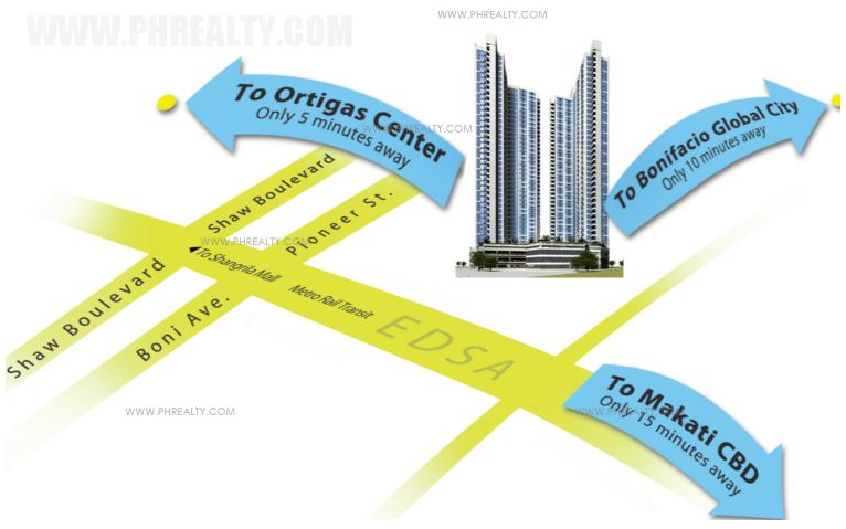 Axis Residences  - Location