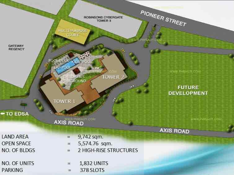 Axis Residences  - Site Development plan