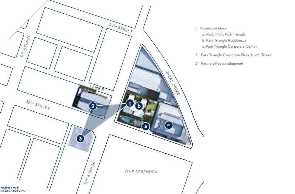 Park Triangle Residences - Site Development Plan
