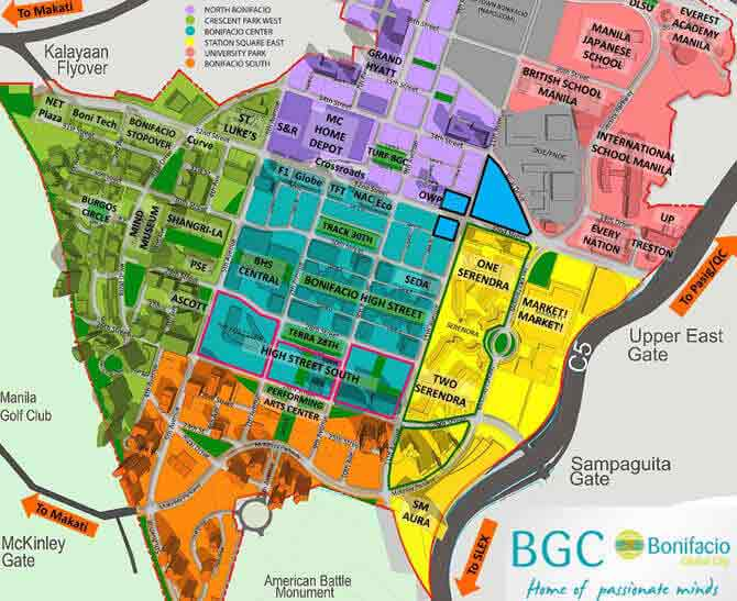 Park Triangle Residences - Map