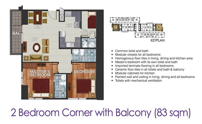 Dream Tower - 2 Bedroom