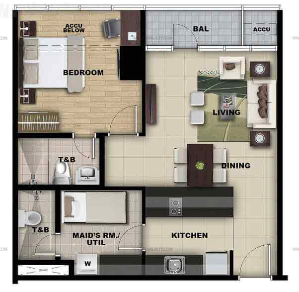 Salcedo Sky Suites - Studio Unit