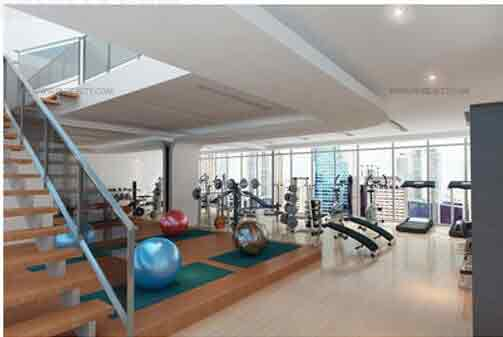 Salcedo Sky Suites - Fitness Room