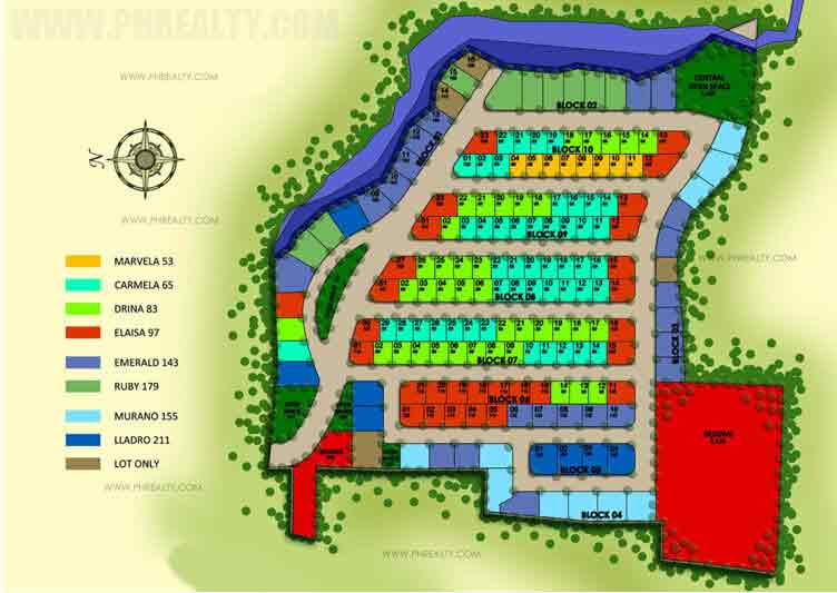 Camella Batangas City - Site Development Plan