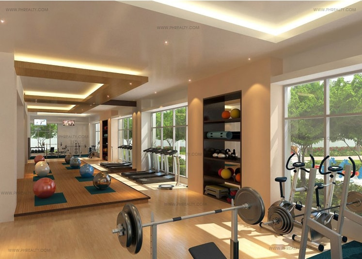 One Manchester Place - Gym