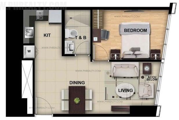 One Eastwood Avenue - 1 Bedroom