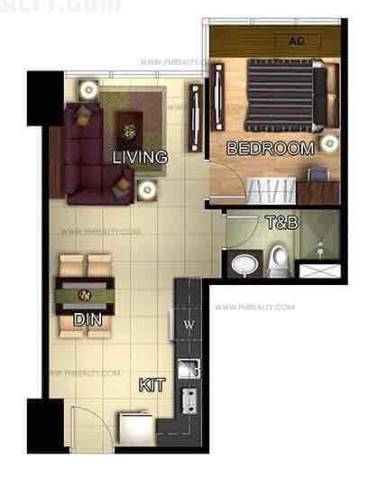 One Eastwood Avenue - One Bedroom