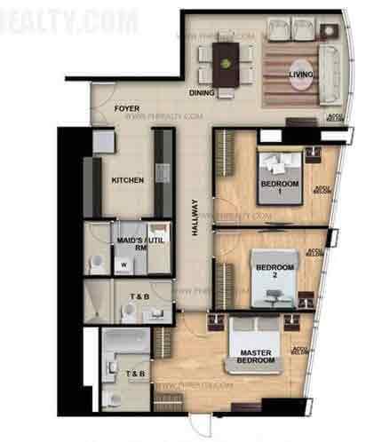 One Eastwood Avenue - Three Bedroom