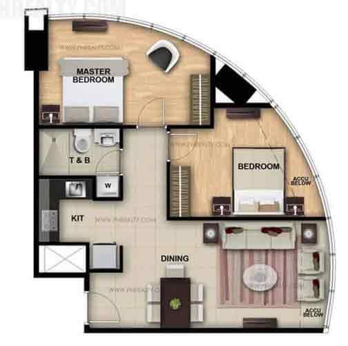 One Eastwood Avenue - Two Bedroom
