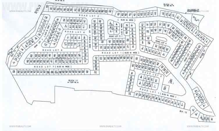 Sienna Villas Bacoor - Site Development Plan