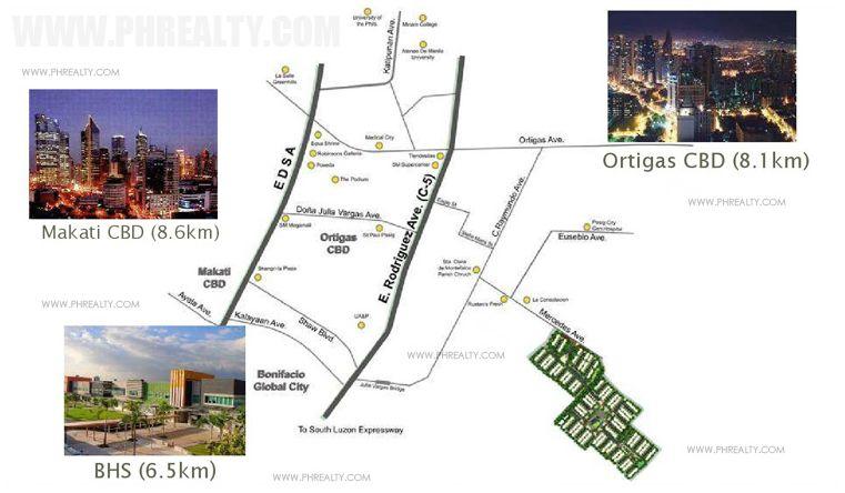 Ametta Place  - Location & Vicinity
