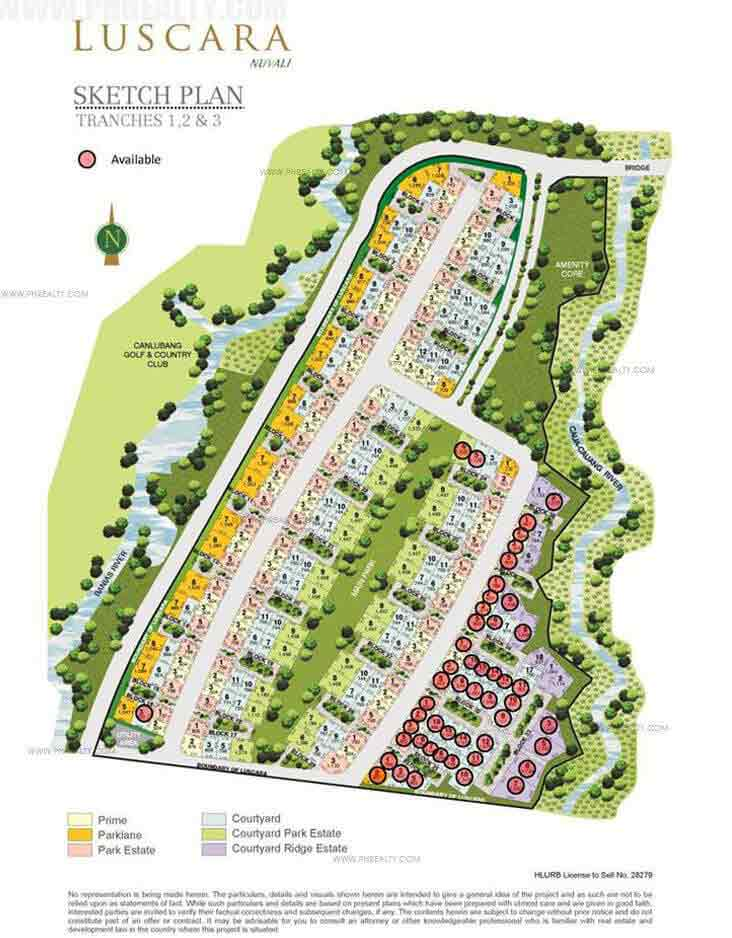 Luscara - Site Development Plan