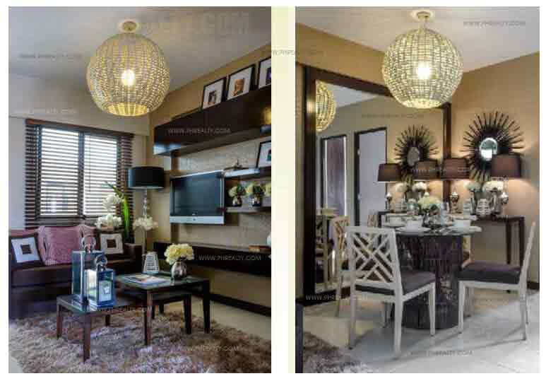 The Birchwood - Living and Dining Area