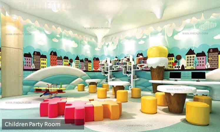 One Shangri la Place - Children Party Room
