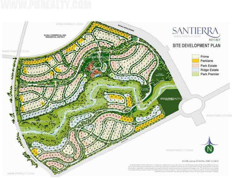 Santierra - Site Development Plans